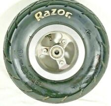Guc Oem Original Razor E300 Scooter Front Wheel, Tire, Tube 3.00-4 *Holds Air*