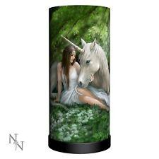 Gorgeous Anne Stokes Pure Heart Lamp - Nemesis Now - Unicorn - Free Postage