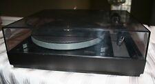 Thorens TD 145 MK II Turntable W/ Dust Cover Vintage Record Player Original Box