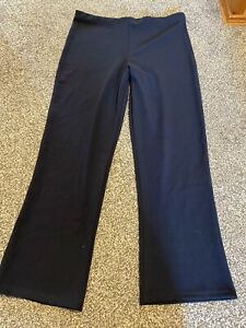 Ladies Navy Trousers Size 20