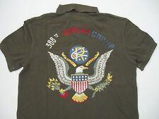 POLO RALPH LAUREN Men's Custom-Fit Mesh Eagle Polo M