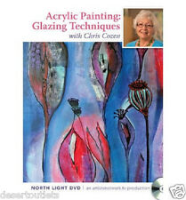 Acrylic Painting Glazing Techniques Step by Step  with Chris Cozen DVD