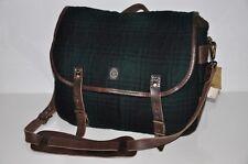 Ralph Lauren RRL VINTAGE Wool & Leather Messenger Bag