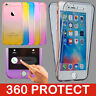 For Apple iPhone XS XR 8 7 6s 6 Plus 5 UltraThin Slim 360 Gel Tpu Cover Case