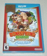 Donkey Kong Country: Tropical Freeze Nintendo Wii U Factory Sealed
