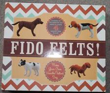 2 kit NEW Fido Felts Make Your Own Felted Dog Beagle Bulldog labrador dachshund