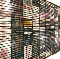 BUILD UR OWN Cassette Tape Lot - Hard Rock - Van Halen, Ozzy, KISS + More!!!