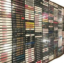 BUILD UR OWN Cassette Tape Lot - Hard Rock - Van Halen, Sabbath, KISS + More!!!
