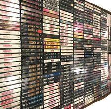BUILD UR OWN Cassette Tape Lot - Hard Rock - Van Halen, Ozzy, KISS + More!!!