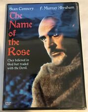 THE NAME OF THE ROSE (DVD, 2004) ***BRAND NEW*** Rare, OOP! ~Sean Connery (1986)