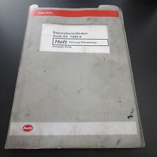 Audi A4 B5 Typ 8D ab 1995 Werkstatthandbuch Heizung & Klimaanlage Stand 04/1998