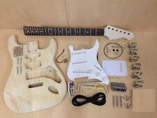 Complete No-Solder E-200DIY Electric Guitar DIY Kit+Free Digital Tuner & Picks