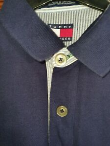 Tommy Hilfiger Polo Shirt Large Fitting Medium Worn Once