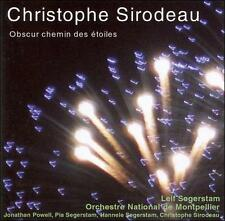 CHRISTOPHE SIRODEAU: OBSCUR CHEMIN DES 'TOILES (NEW CD)