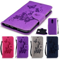 For LG Stylo 5 / Stylo 4 / 4 Plus Case Leather Flip Wallet Protective Phone Case