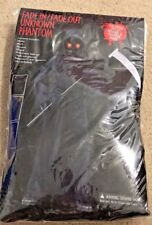 Fade In/Out Unknown Phantom Child Costume Black for Halloween Sz SMALL 4-6 NEW