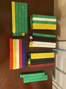 Unifix Counting Cubes Interlocking Education Math Homeschool Lot of 500