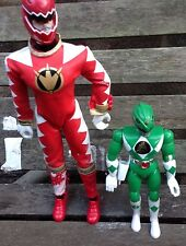 Power Rangers Mystic Force Talking Ranger & Green Ranger Bandai