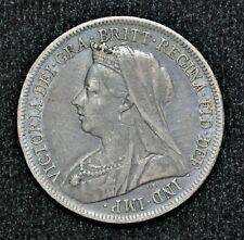 1899 Great Britain Shilling - Queen Victoria