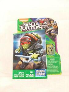 Mega Bloks Nickelodeon Teenage Mutant Ninja Turtles Paratrooper Raph Mini Figure
