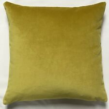 "Vibrant ""Goldfinch Yellow"" Velvet Cushion Cover by Anderson Castle Design"