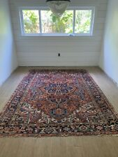 Vintage Heriz Rug. Approx 8' 4� X 6'11�. Beautiful Colors. Clean.