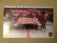 Oilers 03-04 Gretzky Fuhr Messier Heritage Classic Season Ticket Litho Poster