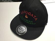 La Fogata Mexican Restaurant Hat NWOT Snapback 57 Cm Black