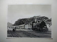 "KEN06 8½"" x 6½"" EAST AFRICAN RAILWAYS Steam Locomotive No2509 Photo - KENYA"