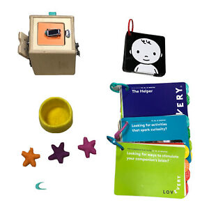 LOVEVERY Lock Box Realist Box Montessori Learning Toy Lot Play Guides O3