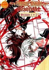 Vampire Knight + Vampire Knight Guilty | TV Series | DVD | Eng/Jap Audio