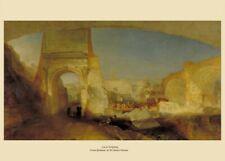 Forum Romanum, J.M.W. TURNER, English Romanticism Art Poster