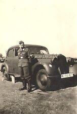 WWII Original German Luftwaffe RP- Driver- Car- KFZ- License Plate- Unit Marking
