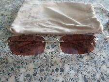 Oliver Peoples gold frame sunglasses. OV 1243S Daveigh. With bag.