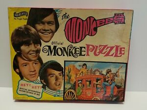 Vintage 1967 The MONKEES Fairchild Jigsaw Puzzle COMPLETE ALL 340 PIECES