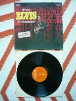 Elvis Presley From Elvis In Memphis Vinyl 1969 German RCA Victor 1st Press LP