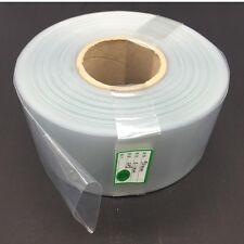 1M Transparent Clear Battery Sleeve PVC Heat Shrinkable Tube  Width 165MM Φ105MM