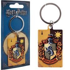 Harry Potter Schlüsselanhänger Hufflepuff House Metall Anhänger Keychain Keyring