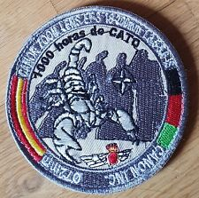 PARCHE EJERCITO DEL AIRE SPANISH AIR FORCE PATCH 1000 HORAS CATO ISAF