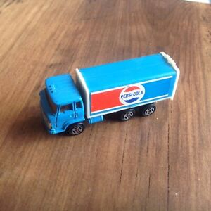 Hino PEPSI Delivery Die Cast Delivery Truck 1980s Hong Kong