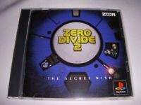 USED PS1 PS PlayStation 1 ZERO DIVIDE 2 76277 JAPAN IMPORT