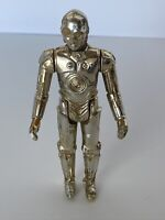 🔥 Vintage Star Wars Action Figure - C-3PO Fixed Limbs 1977 Hong Kong 3 Line CCO