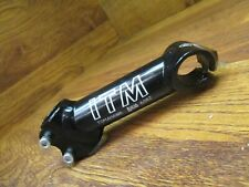 "NOS ITM TOMAHAWK AHEAD 6082 1"" x 130 x 25.4 THREADLESS STEM  -  BLACK"