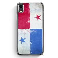 Panama Grunge iPhone XR Hülle Cover Hard Case Handyhülle Schutzhülle Schale