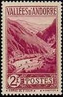 """ANDORRE FRANCAIS STAMP TIMBRE N° 41 """" GORGES DE SAINT-JULIA 2 F. """" NEUF xx TTB"""