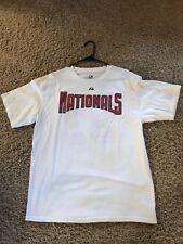 MLB Washington Nationals Strasburg Short Sleeve Majestic Athletic Baseball NEW