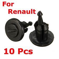 10Pcs Bumper Fastener Trim Clip Rivets For Renault Clio Laguna Megane Espace