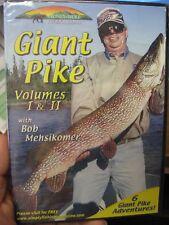 Stoney Wolf Fishing Dvd Fish Video / Giant Pike Vols. 1 & 2 With Bob Mehsikomer