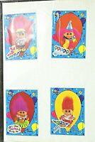 Vintage 1980s  Russ Sticker Delight Music Stickers