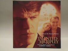 New listing Original Soundtrack - The Talented Mr Ripley (Cd 1999)
